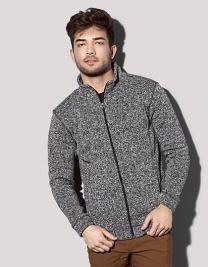 Knit Fleece Jacket